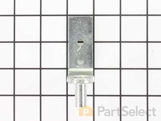 Bottom Door Hinge with Pin – Part Number: WP2254473