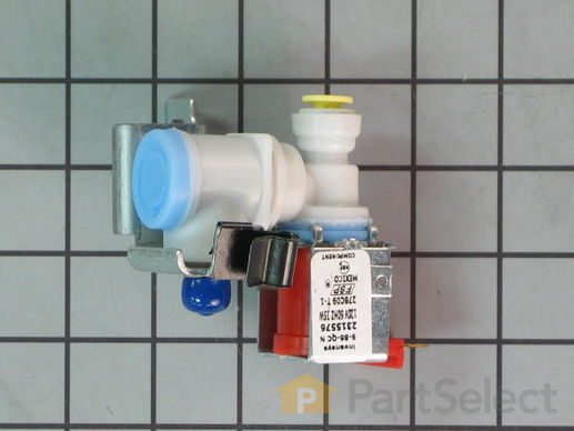 11740365-2-S-Whirlpool-WP2315576-Single Water Inlet Valve - 120V 60Hz 35W