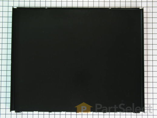 Panel, Front (Black) – Part Number: WP3379375