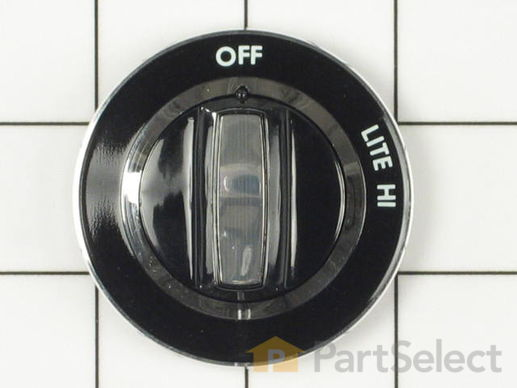 11742339-1-S-Whirlpool-WP4179282-Surface Burner Control Knob