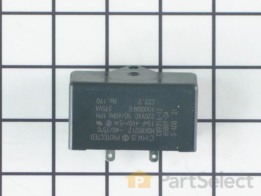 11743364-3-S-Whirlpool-WP65889-4-Run Capacitor