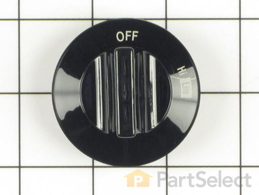 Surface Burner Knob – Part Number: WP74002353