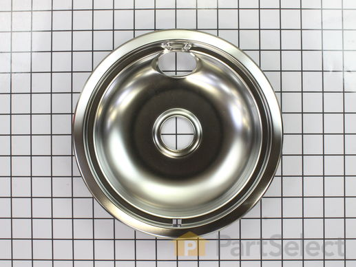 Chrome Drip Bowl 8 Inch Part Number Wpw10196405