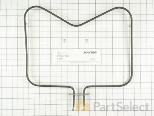 Bake Element (15 Inch long x 19 Inch wide) – Part Number: WPY04000041