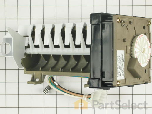 1569082-1-S-Whirlpool-1110702A-Ice Maker Kit with Flat Plug Connector