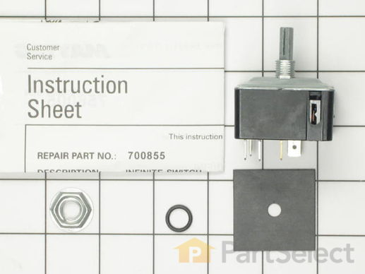 2076107 2 M Whirlpool 700855K Surface Unit Infinite Switch Kit whirlpool 700855k surface unit infinite switch kit partselect robertshaw infinite switch wiring diagram at reclaimingppi.co