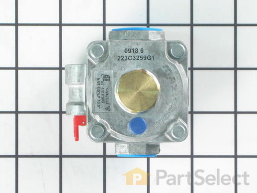 GE WB19K28 Gas Pressure Regulator PartSelect