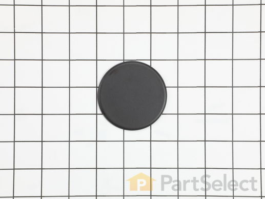 Surface Burner Cap - Black – Part Number: 316261804