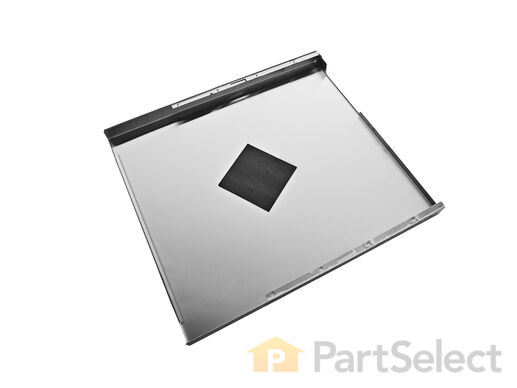 Exterior Door Panel - Stainless Steel – Part Number: W10301577