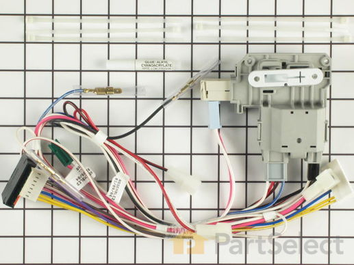 Door Lock Amp Switch Kit 137523400 Official Frigidaire