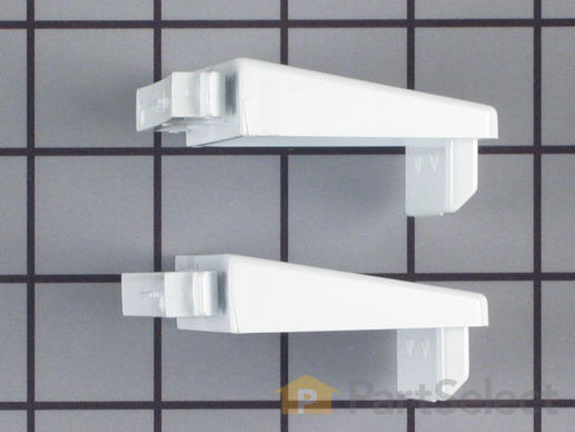 370794-3-S-Whirlpool-4386917           -Door Shelf End Cap Set
