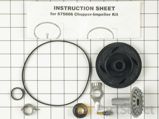 Drain and Wash Impeller Kit – Part Number: 675806