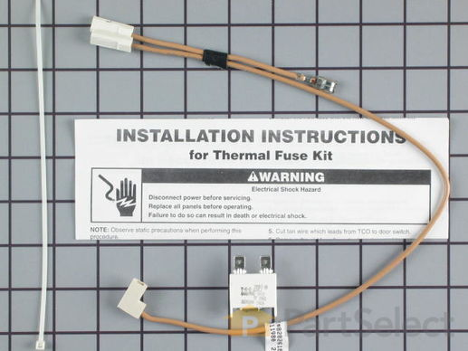 382828-2-S-Whirlpool-675813            -Thermal Fuse and Harness