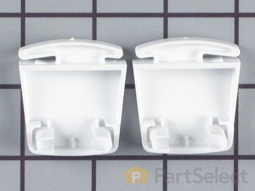 Door Shelf End Cap Set - Left and Right Side – Part Number: 5303925377