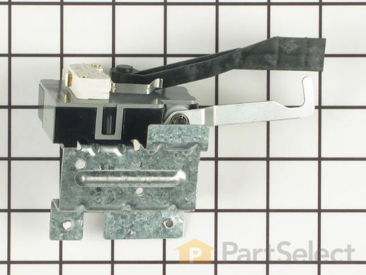 648775-2-S-Frigidaire-134101800         -Washer Lid Lock with External Safety Switch