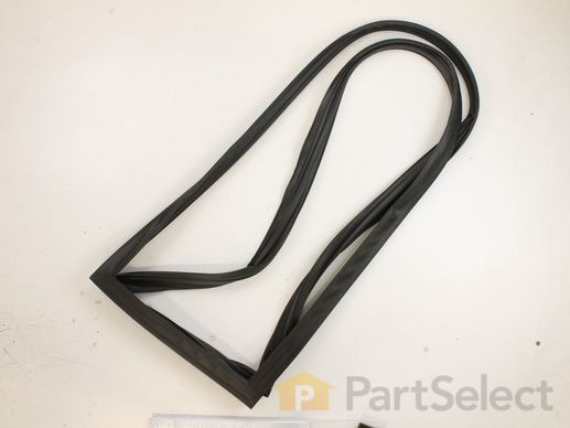 Freezer Door Gasket - Black – Part Number: WR24X20455