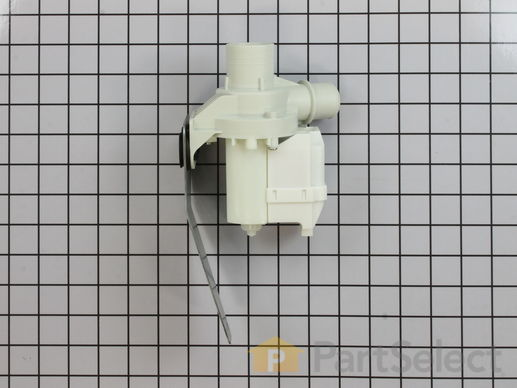 Drain Pump and Motor Assembly – Part Number: WH23X10030